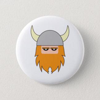 Gustav Gustavson Viking Badge 2 Inch Round Button