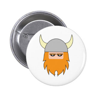 Gustav Gustavson Viking Badge 2 Inch Round Button