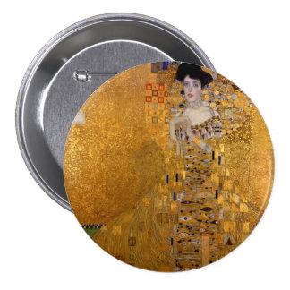 Gustav Klimt - Adele Bloch-Bauer I. 3 Inch Round Button