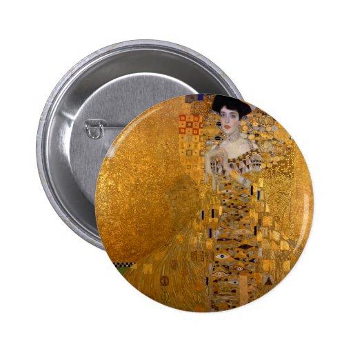 Gustav Klimt - Adele Bloch-Bauer I. Pins