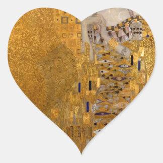 Gustav Klimt - Adele Bloch-Bauer I. Heart Sticker