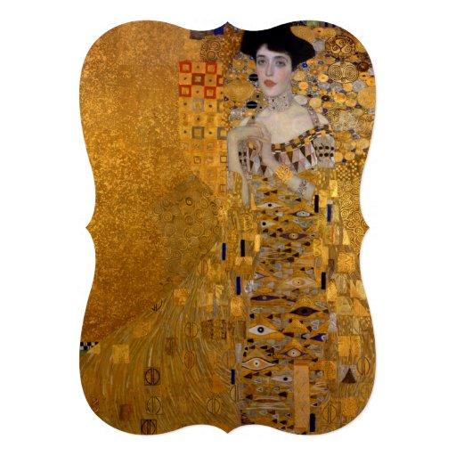 Gustav Klimt - Adele Bloch-Bauer I. Personalized Invites