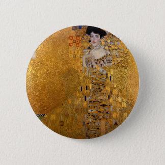 Gustav Klimt - Adele Bloch-Bauer I Painting 2 Inch Round Button