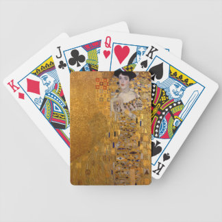 Gustav Klimt - Adele Bloch-Bauer I Painting Bicycle Playing Cards