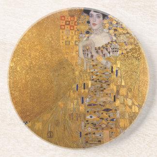 Gustav Klimt - Adele Bloch-Bauer I Painting Coaster