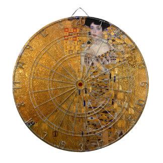 Gustav Klimt - Adele Bloch-Bauer I Painting Dartboard