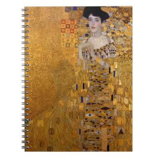 Gustav Klimt - Adele Bloch-Bauer I Painting Notebook