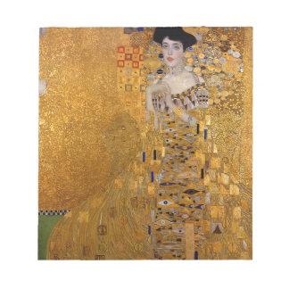 Gustav Klimt - Adele Bloch-Bauer I Painting Notepad