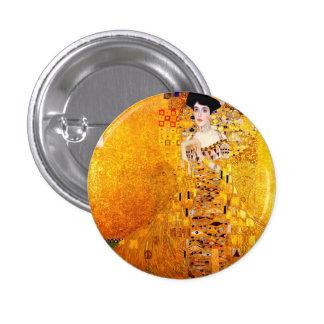 Gustav Klimt Adele Bloch-Bauer Vintage Art Nouveau 1 Inch Round Button