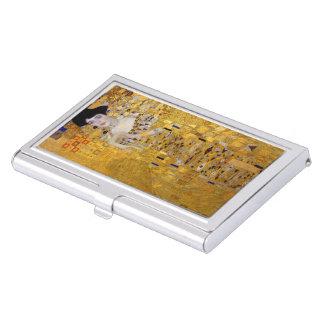 "Gustav Klimt, ""Adele Bloch-Bauer's Portrait"" Business Card Holder"