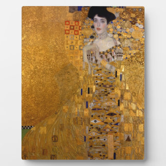 Gustav Klimt // Adele Bloch-Bauer's Portrait. Display Plaque