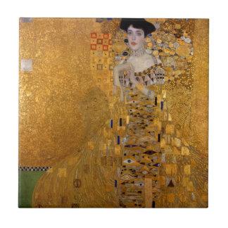 Gustav Klimt // Adele Bloch-Bauer's Portrait. Tile