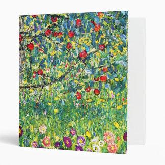Gustav Klimt: Apple Tree 3 Ring Binders