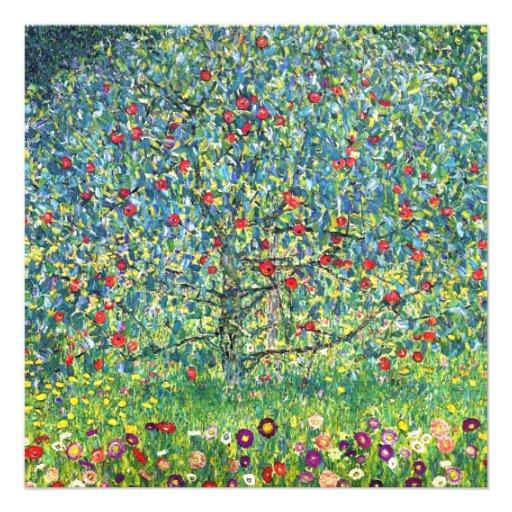Gustav Klimt: Apple Tree Personalized Invites