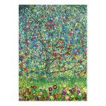 Gustav Klimt: Apple Tree Large Business Card