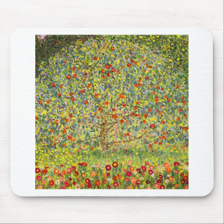 Gustav Klimt Apple Tree Mouse Pad
