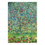 Gustav Klimt: Apple Tree Pack Of Chubby Business Cards