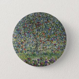 Gustav Klimt - Apple Tree Painting 2 Inch Round Button
