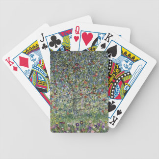 Gustav Klimt - Apple Tree Painting Bicycle Playing Cards