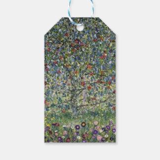 Gustav Klimt - Apple Tree Painting Gift Tags