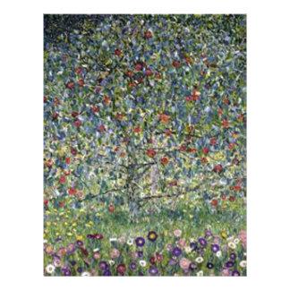 Gustav Klimt - Apple Tree Painting Letterhead