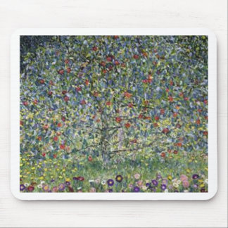 Gustav Klimt - Apple Tree Painting Mouse Pad