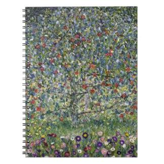 Gustav Klimt - Apple Tree Painting Notebooks