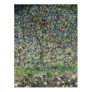 Gustav Klimt - Apple Tree Painting Postcard