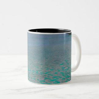 Gustav Klimt Attersee Vintage Art GalleryHD Two-Tone Coffee Mug
