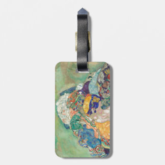 Gustav Klimt Baby Cradle Luggage Tag