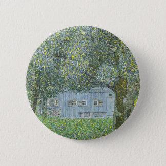 Gustav Klimt - Bauerhaus in Buchberg Painting 2 Inch Round Button