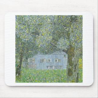 Gustav Klimt - Bauerhaus in Buchberg Painting Mouse Pad