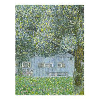 Gustav Klimt - Bauerhaus in Buchberg Painting Postcard