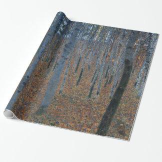 Gustav Klimt Beech Grove Fine Art GalleryHD Wrapping Paper