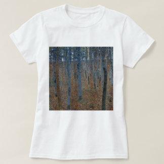 Gustav Klimt Beech Grove GalleryHD Fine Art T-Shirt
