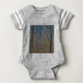 Gustav Klimt - Beech Grove. Trees Nature Wildlife Baby Bodysuit