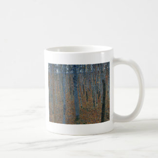 Gustav Klimt - Beech Grove. Trees Nature Wildlife Coffee Mug