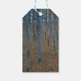 Gustav Klimt - Beech Grove. Trees Nature Wildlife Gift Tags