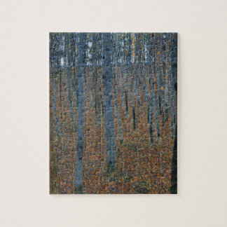 Gustav Klimt - Beech Grove. Trees Nature Wildlife Jigsaw Puzzle