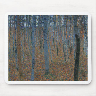 Gustav Klimt - Beech Grove. Trees Nature Wildlife Mouse Pad