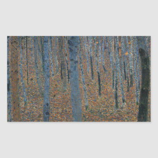 Gustav Klimt - Beech Grove. Trees Nature Wildlife Sticker