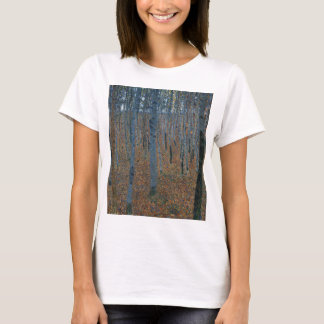 Gustav Klimt - Beech Grove. Trees Nature Wildlife T-Shirt