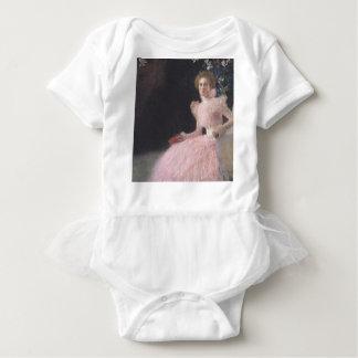 Gustav Klimt - Bildnis Sonja Knips Portrait Baby Bodysuit