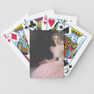 Gustav Klimt - Bildnis Sonja Knips Portrait Bicycle Playing Cards