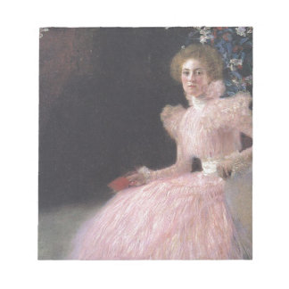 Gustav Klimt - Bildnis Sonja Knips Portrait Notepad