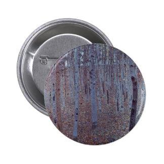 Gustav Klimt- Buchenhain Pinback Buttons