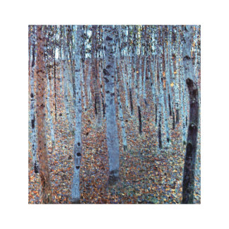Gustav Klimt Buchenwald Beech Forest Canvas Print