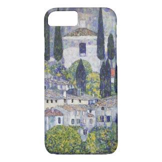 Gustav Klimt Church at Cassone sul Garda iPhone 7 Case