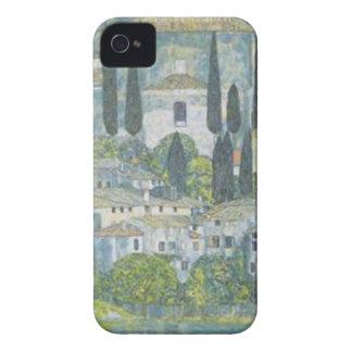 Gustav Klimt - Church in Cassone Art work iPhone 4 Case-Mate Case