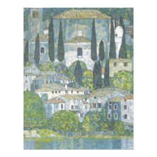 Gustav Klimt - Church in Cassone Art work Letterhead